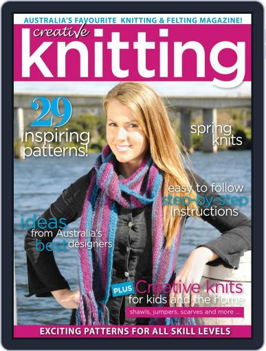 Creative Knitting August 1st, 2018 Digital Back Issue Cover