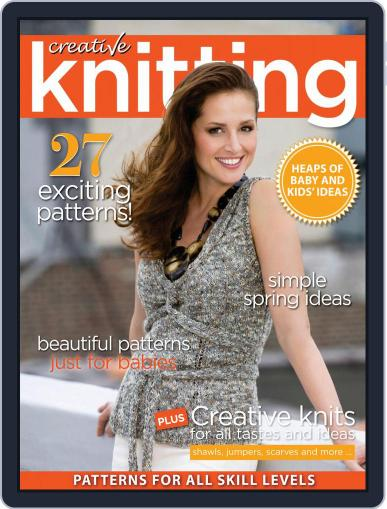 Creative Knitting April 1st, 2019 Digital Back Issue Cover