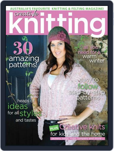 Creative Knitting August 1st, 2019 Digital Back Issue Cover