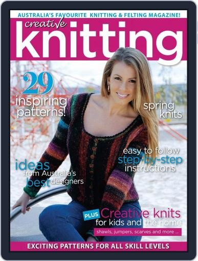 Creative Knitting January 1st, 2020 Digital Back Issue Cover