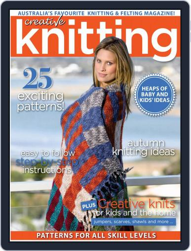 Creative Knitting April 1st, 2020 Digital Back Issue Cover