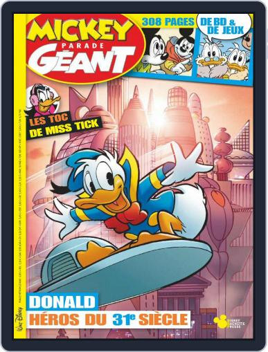 Mickey Parade Géant January 1st, 2018 Digital Back Issue Cover