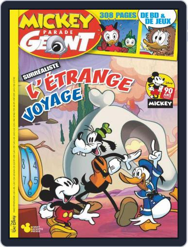 Mickey Parade Géant November 1st, 2018 Digital Back Issue Cover