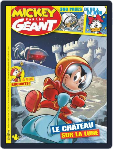 Mickey Parade Géant November 1st, 2019 Digital Back Issue Cover
