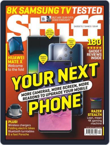 Stuff UK April 1st, 2019 Digital Back Issue Cover