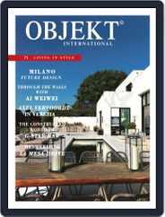 OBJEKT International (Digital) Subscription September 1st, 2015 Issue