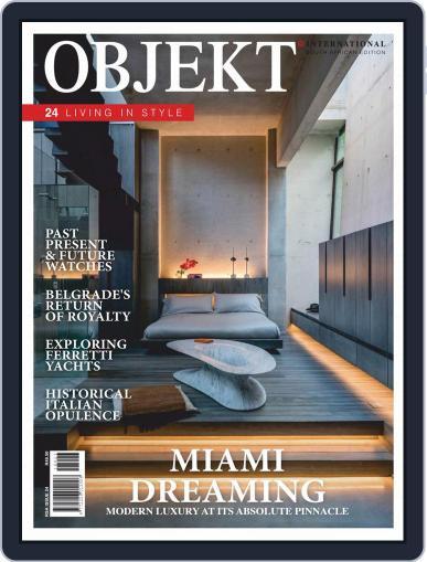 OBJEKT South Africa October 1st, 2018 Digital Back Issue Cover