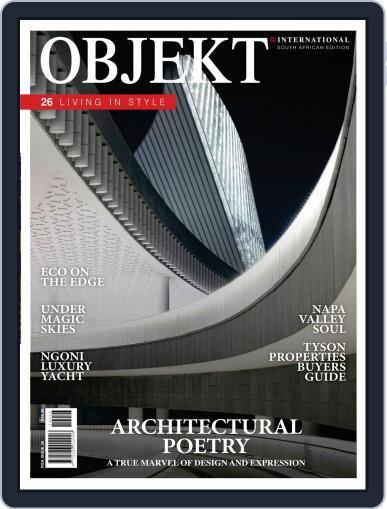 OBJEKT South Africa April 1st, 2019 Digital Back Issue Cover