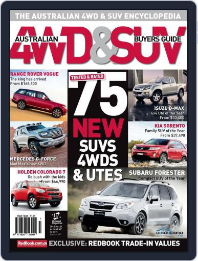 Australian 4WD & SUV Buyer's Guide (Digital) February 5th, 2013 Issue Cover
