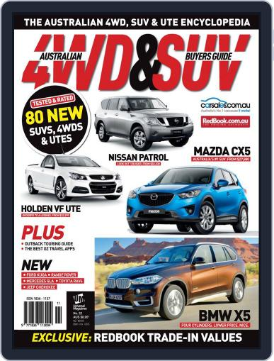 Australian 4WD & SUV Buyer's Guide (Digital) August 6th, 2013 Issue Cover