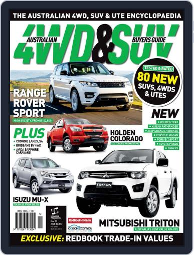 Australian 4WD & SUV Buyer's Guide (Digital) February 5th, 2014 Issue Cover