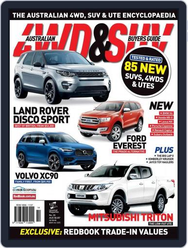 Australian 4WD & SUV Buyer's Guide (Digital) April 30th, 2015 Issue Cover