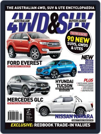 Australian 4WD & SUV Buyer's Guide (Digital) October 2nd, 2015 Issue Cover