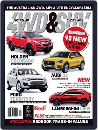 Australian 4WD & SUV Buyer's Guide (Digital) September 1st, 2016 Issue Cover