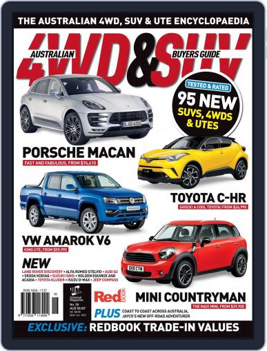 Australian 4WD & SUV Buyer's Guide (Digital) April 1st, 2017 Issue Cover