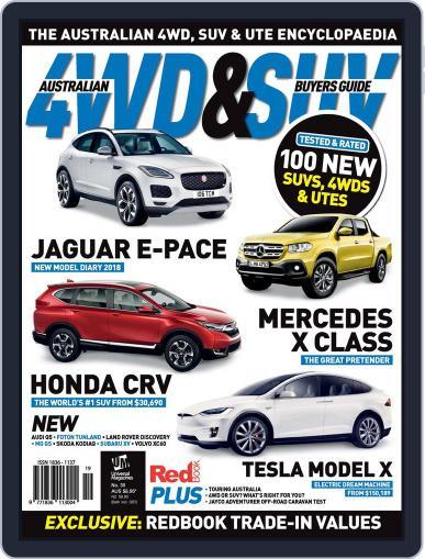 Australian 4WD & SUV Buyer's Guide (Digital) September 1st, 2017 Issue Cover