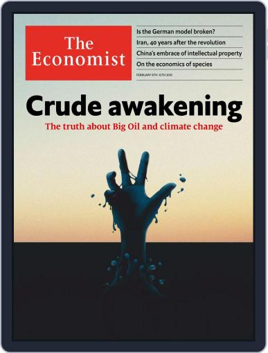 The Economist Asia Edition (Digital) February 9th, 2019 Issue Cover