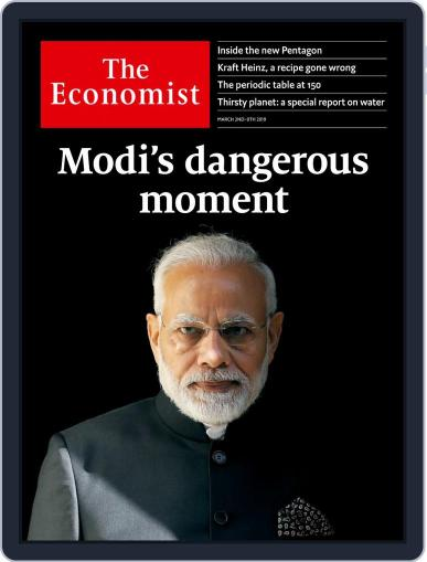 The Economist Asia Edition (Digital) March 2nd, 2019 Issue Cover