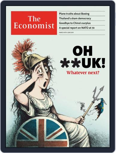 The Economist Asia Edition (Digital) March 16th, 2019 Issue Cover