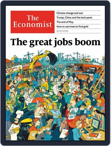 The Economist Asia Edition (Digital) May 25th, 2019 Issue Cover