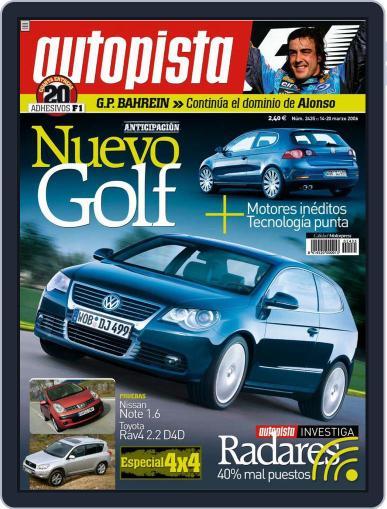Autopista (Digital) March 13th, 2006 Issue Cover