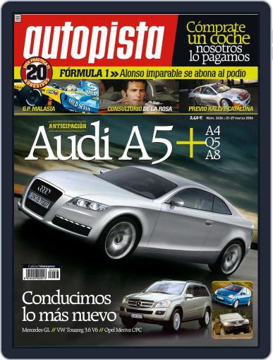 Autopista (Digital) March 21st, 2006 Issue Cover