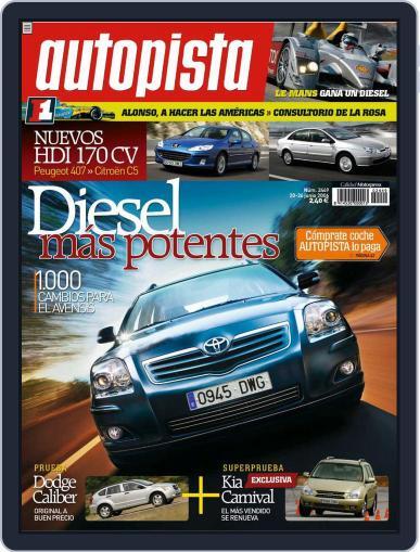 Autopista (Digital) June 19th, 2006 Issue Cover