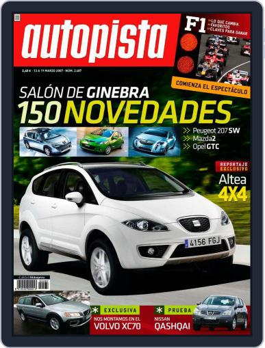 Autopista (Digital) March 12th, 2007 Issue Cover