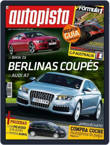 Autopista (Digital) March 19th, 2007 Issue Cover