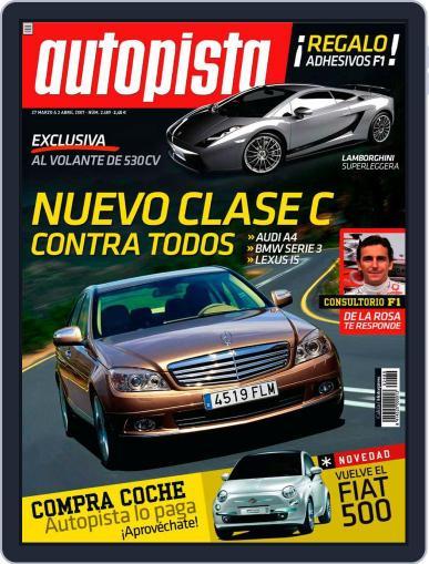 Autopista (Digital) March 26th, 2007 Issue Cover