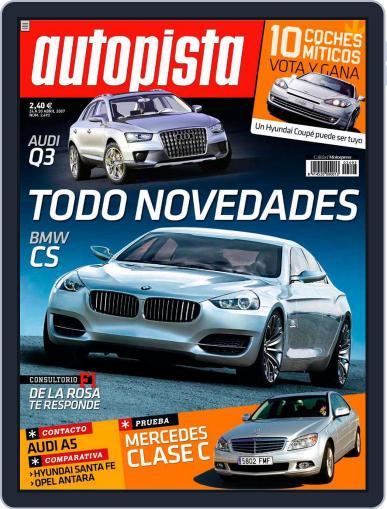 Autopista (Digital) April 23rd, 2007 Issue Cover
