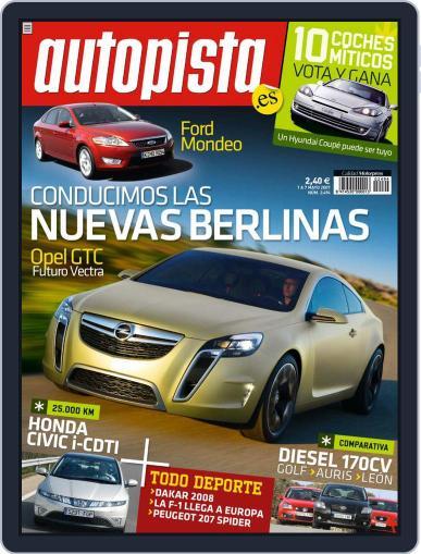 Autopista (Digital) April 30th, 2007 Issue Cover
