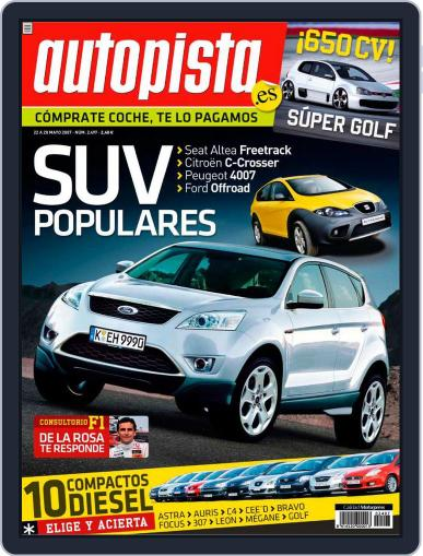 Autopista (Digital) May 21st, 2007 Issue Cover