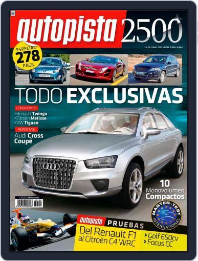 Autopista (Digital) June 11th, 2007 Issue Cover