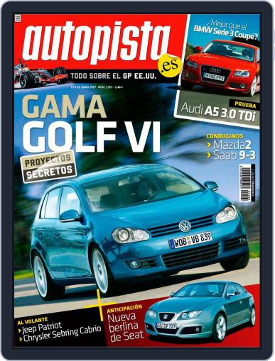 Autopista (Digital) June 18th, 2007 Issue Cover