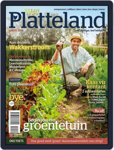 Weg! Platteland August 26th, 2014 Digital Back Issue Cover