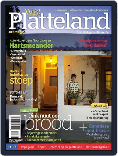 Weg! Platteland March 1st, 2015 Digital Back Issue Cover