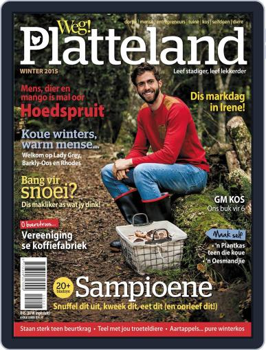Weg! Platteland May 1st, 2015 Digital Back Issue Cover