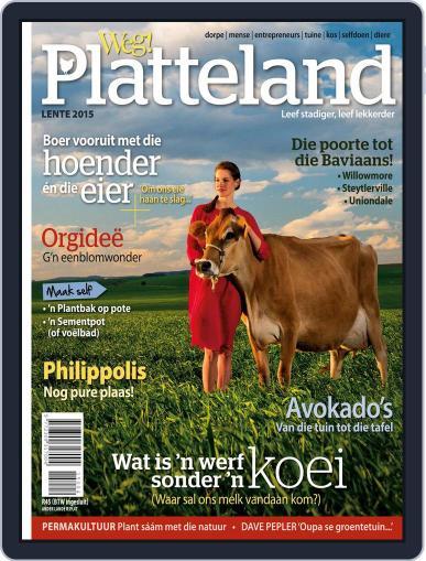 Weg! Platteland August 31st, 2015 Digital Back Issue Cover