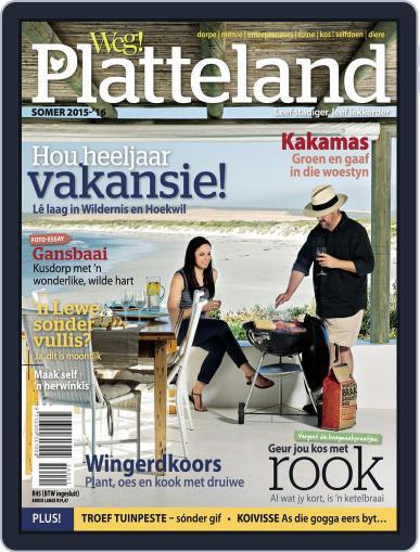 Weg! Platteland November 30th, 2015 Digital Back Issue Cover