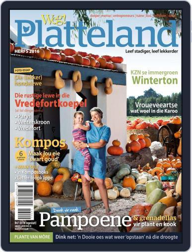 Weg! Platteland February 28th, 2016 Digital Back Issue Cover
