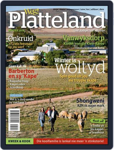 Weg! Platteland May 30th, 2016 Digital Back Issue Cover