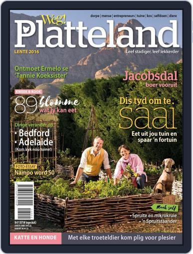 Weg! Platteland August 1st, 2016 Digital Back Issue Cover