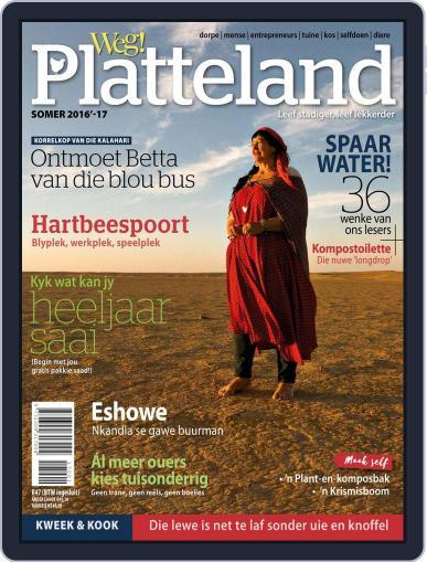 Weg! Platteland November 1st, 2016 Digital Back Issue Cover