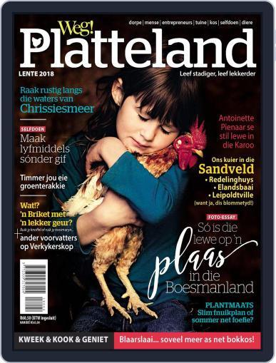 Weg! Platteland August 7th, 2018 Digital Back Issue Cover