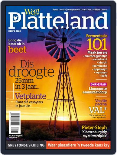 Weg! Platteland September 1st, 2020 Digital Back Issue Cover