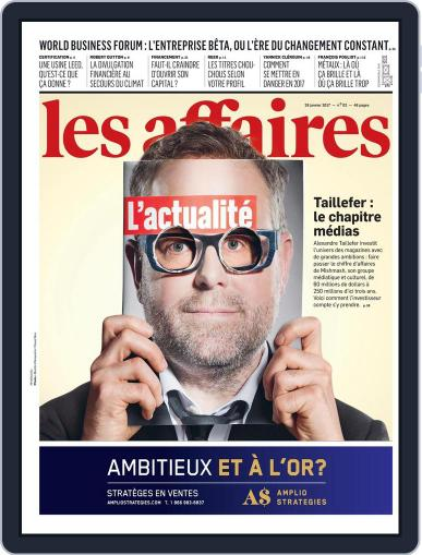 Les Affaires (Digital) January 28th, 2017 Issue Cover