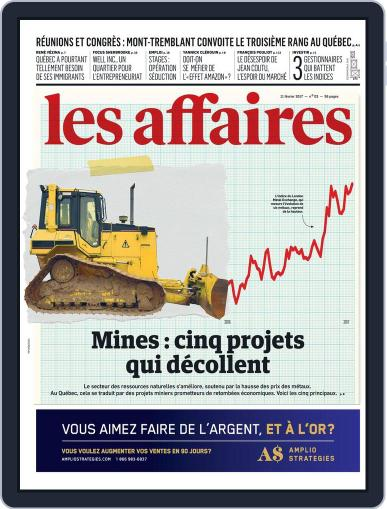 Les Affaires (Digital) February 11th, 2017 Issue Cover