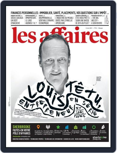 Les Affaires (Digital) March 11th, 2017 Issue Cover