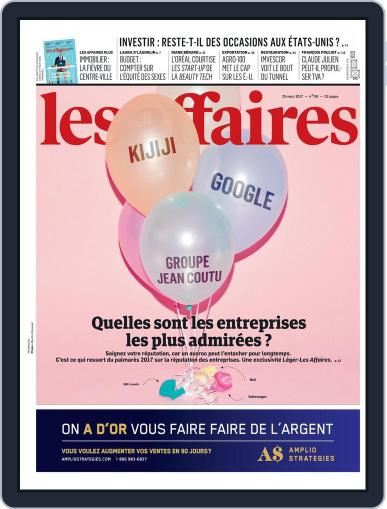 Les Affaires (Digital) March 23rd, 2017 Issue Cover